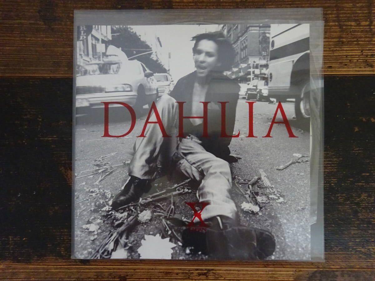 X JAPAN「DAHLIA」 ピクチャー盤 YOSHIKI DJ アナログ レコード LP