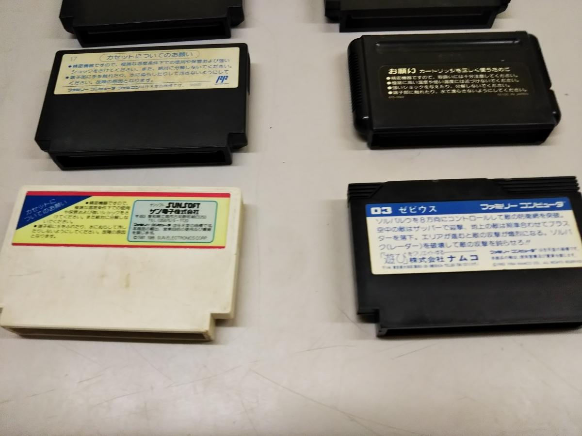 ファミコンソフト 10本セット FC まとめ売り ジャンク 動作未確認  ②_画像9