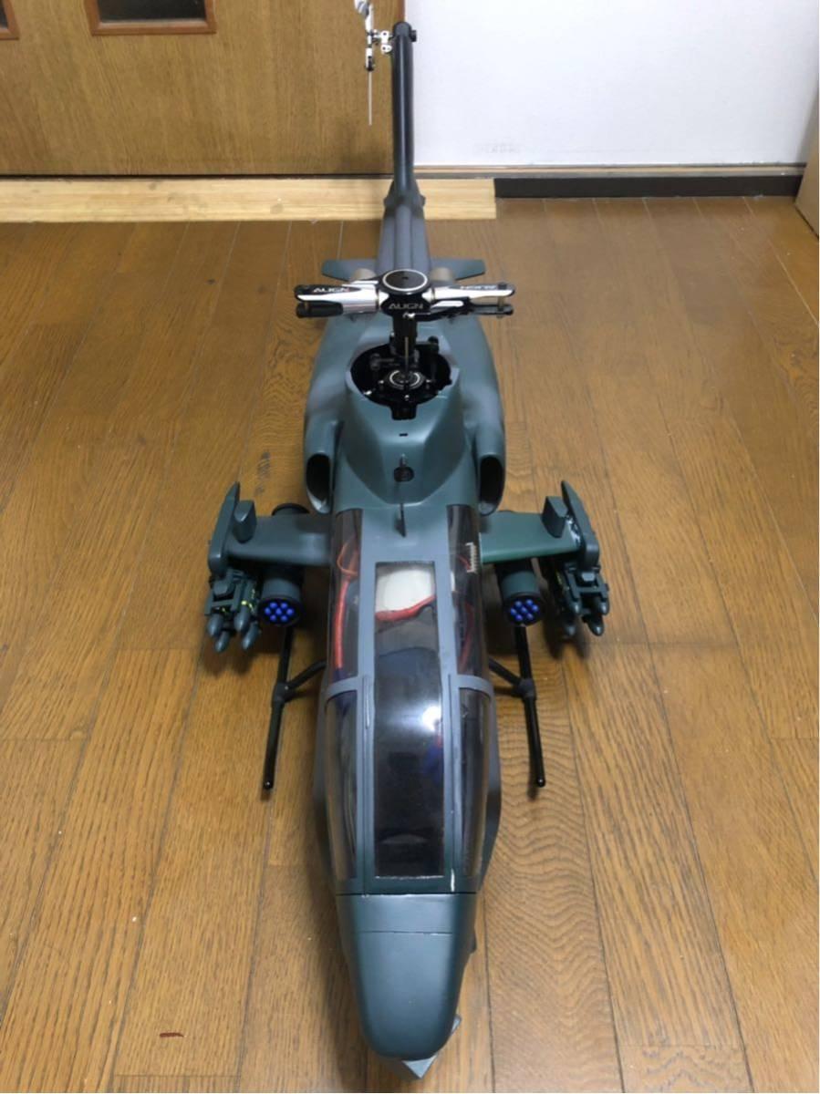 ALIGN T-rex500 SCALE FUSELAGE AH-1 フルLED仕様 中古品
