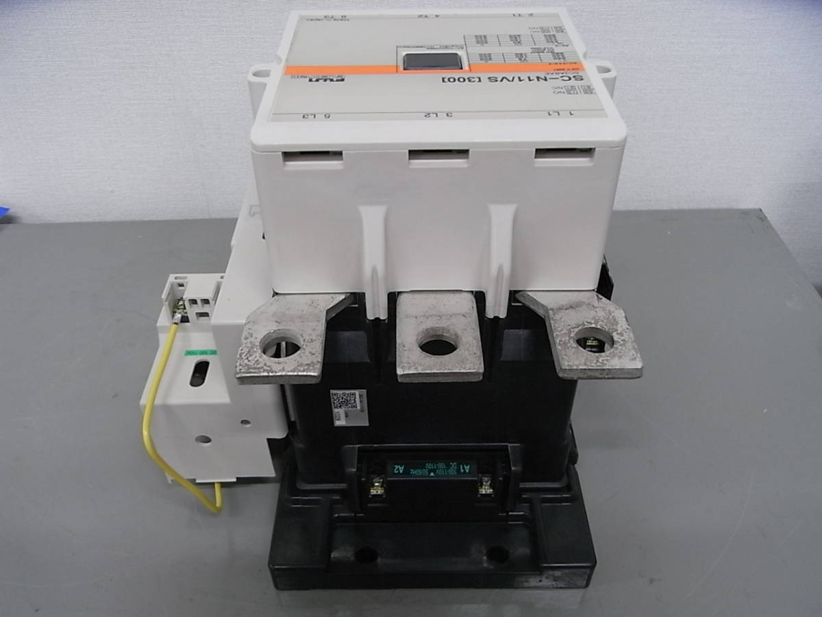 Fuji Electric SC-N11 , SZ-AS2 POLE CONTACTOR (K3 18)_画像3