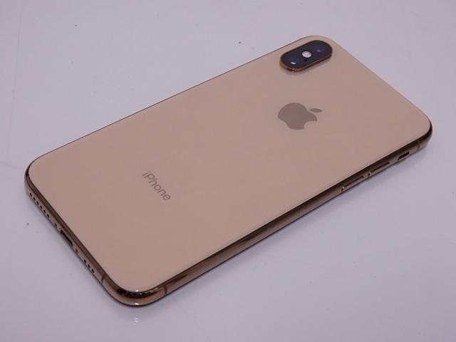 液晶ジャンク 国内版SIMフリー iPhone XS 64GB ゴールド NTAY2J/A_画像4