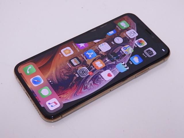 液晶ジャンク 国内版SIMフリー iPhone XS 64GB ゴールド NTAY2J/A_画像2
