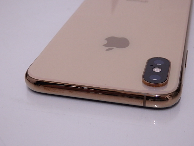 液晶ジャンク 国内版SIMフリー iPhone XS 64GB ゴールド NTAY2J/A_画像7