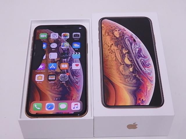 液晶ジャンク 国内版SIMフリー iPhone XS 64GB ゴールド NTAY2J/A