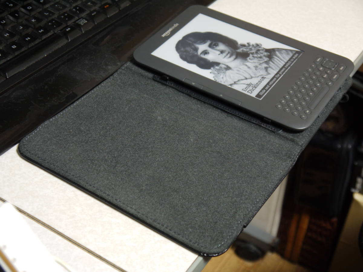 """amazon kindle MODEL:D009001 Wi-Fi 6"""" E Ink Display eBook Reader with Genuine Smart Case_画像4"""
