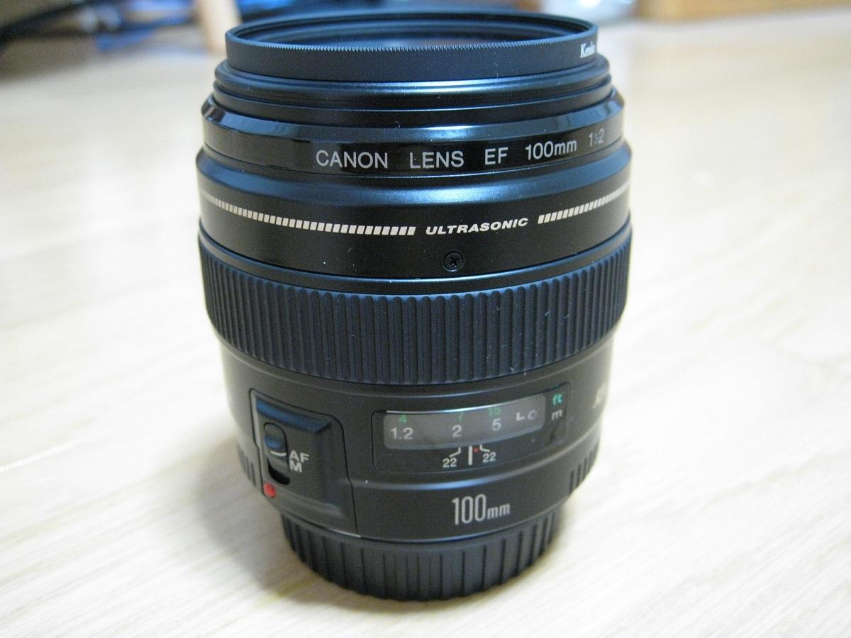 Canon EF100mm F2 USM 中古品 送料込み