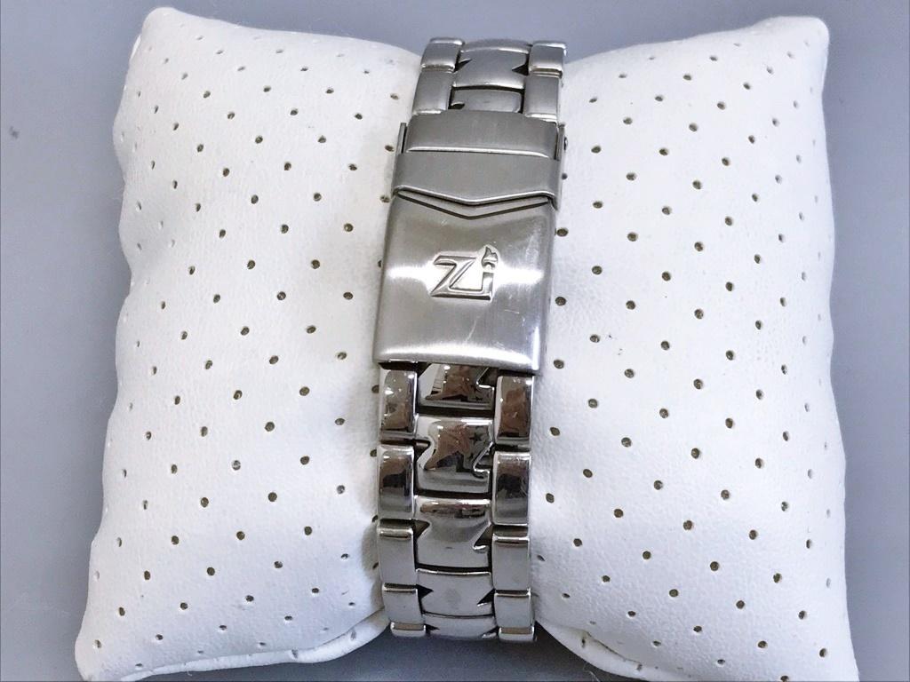 ジャンク品 Zippo ジッポ 10周年記念腕時計 03 No.0035 メンズ腕時計 記念腕時計 ウォッチ カバー付きウォッチ_画像10