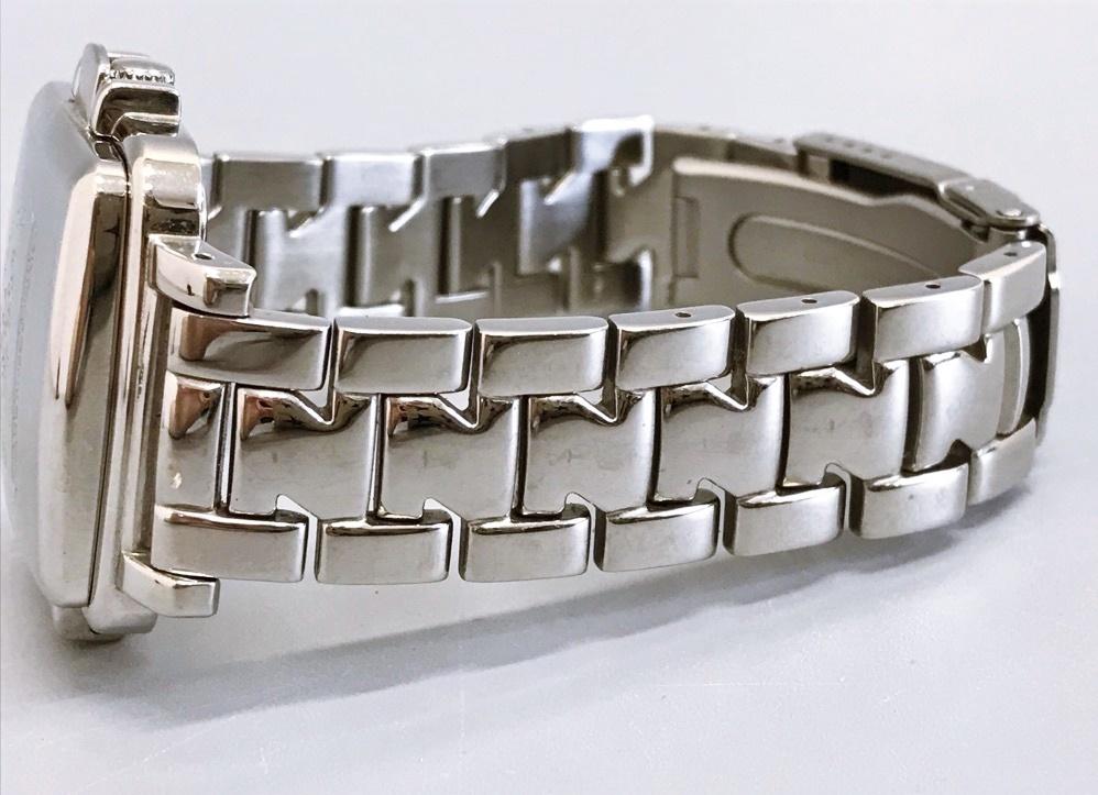 ジャンク品 Zippo ジッポ 10周年記念腕時計 03 No.0035 メンズ腕時計 記念腕時計 ウォッチ カバー付きウォッチ_画像9