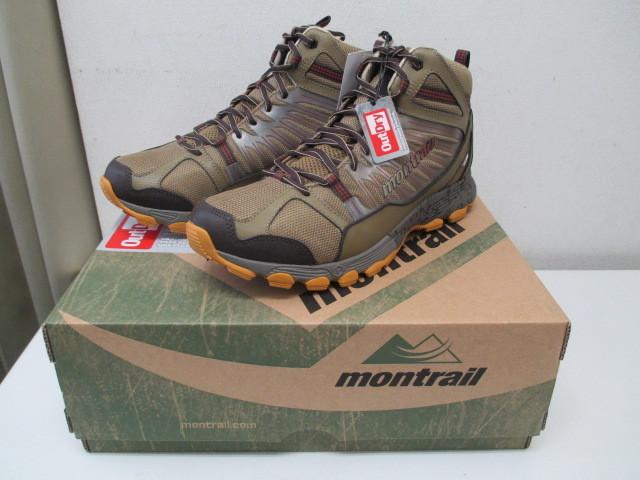 未使用 montrail BADROCK MID OUTDRY モントレイル トレッキングシューズ 29.5cm