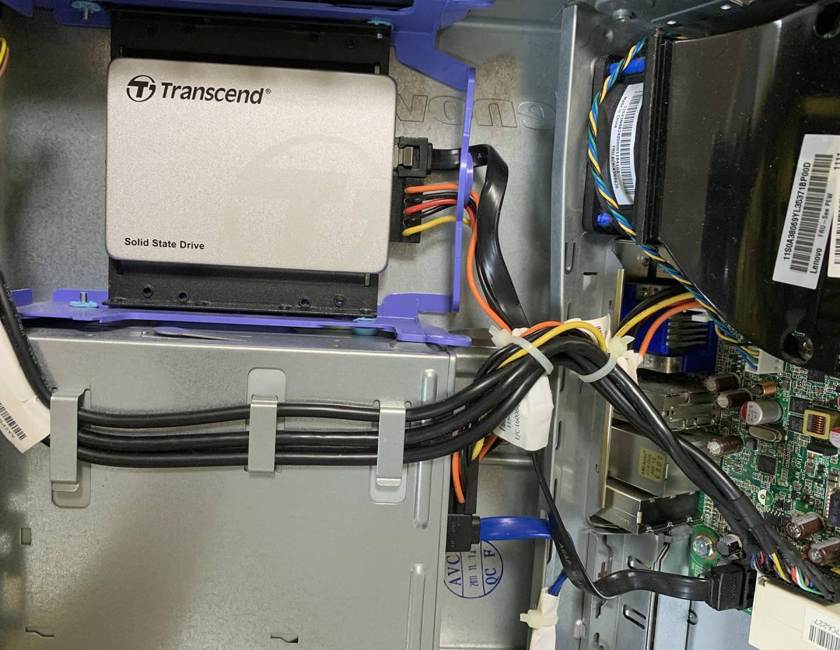 【2台1組メモリ8GB】Lenovo ThinkCentre M91p Eco Ultra Small 0266D6J Windows10 SSD新品256GB【10日間保証】_画像3