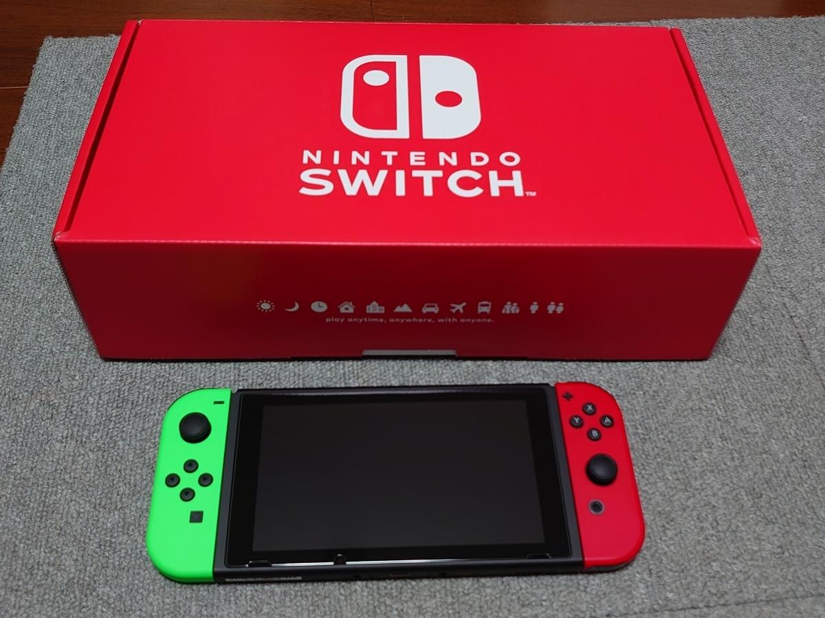 Nintendo Switch ニンテンドースイッチ本体 Nintendo Switch本体 任天堂スイッチ 任天堂 Joy-Con (L) ニンテンドースイッチ