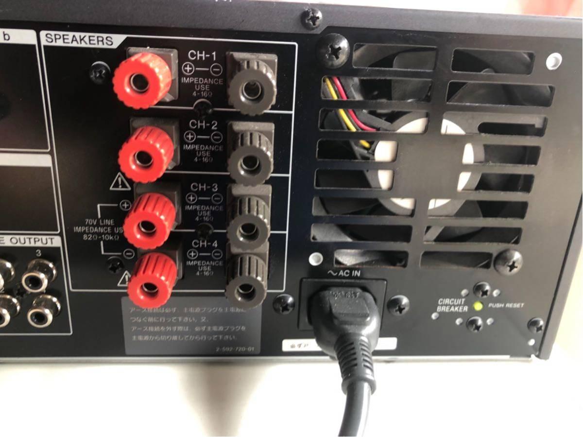 SONYデジタルパワードミキサーSRP-X500P_画像4