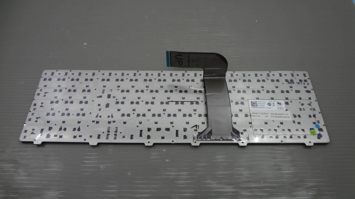 1円~● Dell XPS17 L702X 用日本語キーボード 08HFNP V119725AJ1●中古品_画像2