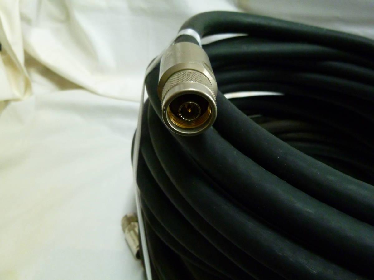 同軸ケーブル フジクラ 12D-SFA 20m(Np-Npコネクタ付き) 中古_画像3