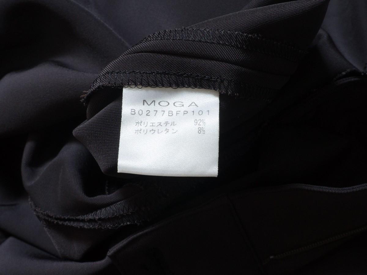 ゆうパケット○ 美品 MOGA パンツ スラックス きれいめ 大きいサイズ ワイド 太め 着回し オフィス グレー/灰 17 7f7c034_画像5