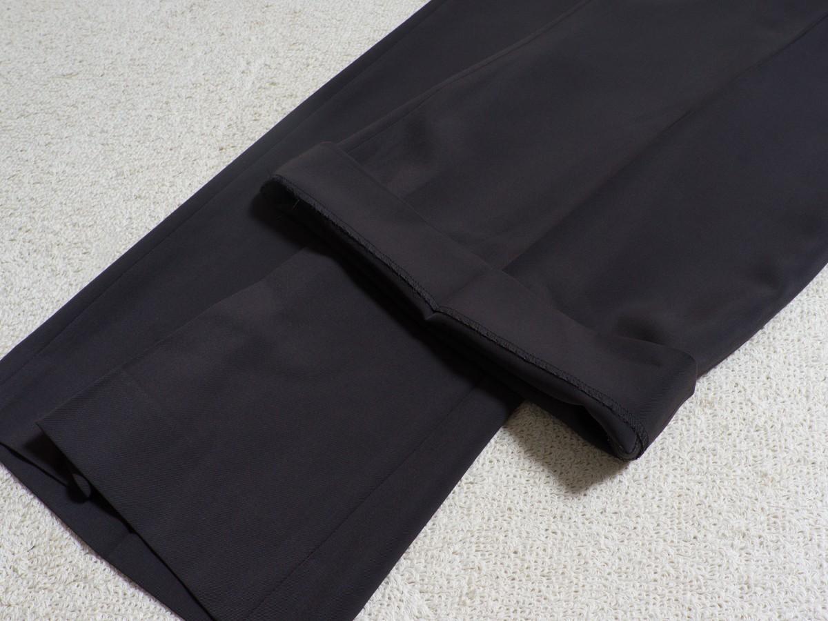 ゆうパケット○ 美品 MOGA パンツ スラックス きれいめ 大きいサイズ ワイド 太め 着回し オフィス グレー/灰 17 7f7c034_画像7