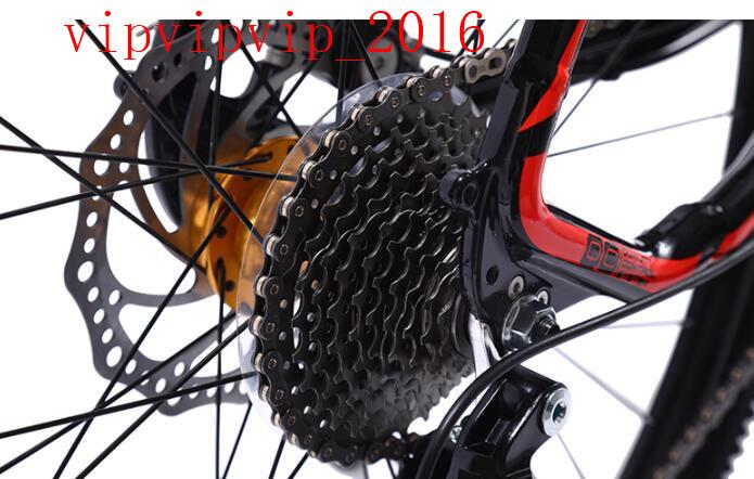 27変速 マウンテンバイク サイクリング レーシングバイク  軽量 二重衝撃吸収 ディスクブレーキ 変速 オフロード 成人SWX-DC185_画像7
