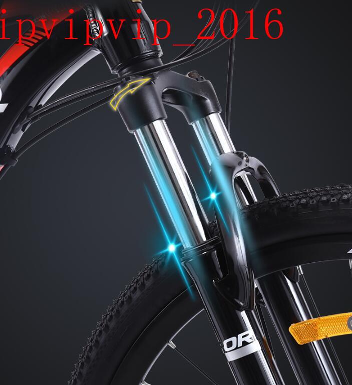 27変速 マウンテンバイク サイクリング レーシングバイク  軽量 二重衝撃吸収 ディスクブレーキ 変速 オフロード 成人SWX-DC185_画像10