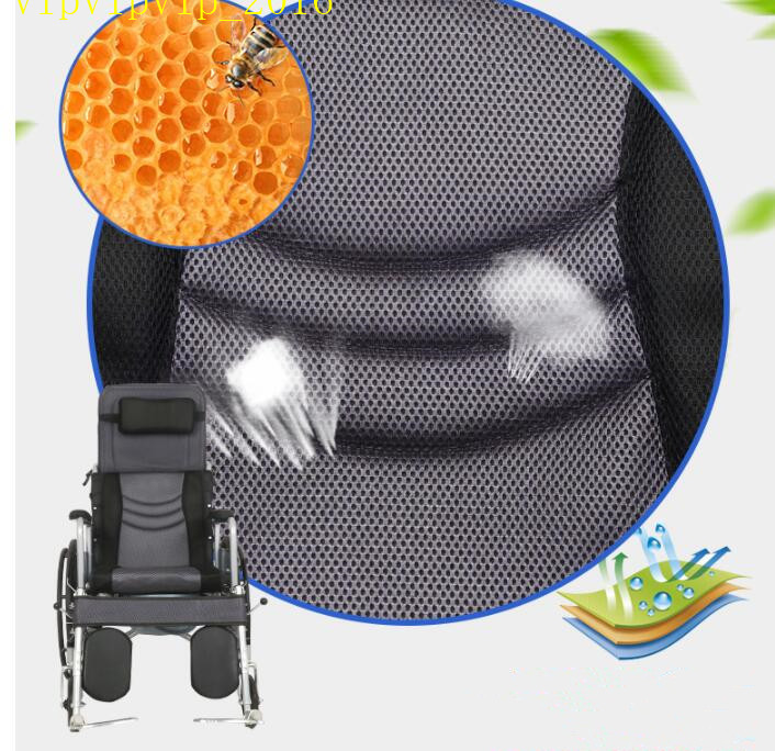 お年寄り 車椅子 折りたたみ式 軽量 ポータブル 便器付き 小型 多機能 完全に横になれる 身体障害者 手押し車SWX-LY170_画像7