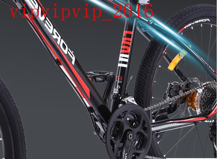 27変速 マウンテンバイク サイクリング レーシングバイク  軽量 二重衝撃吸収 ディスクブレーキ 変速 オフロード 成人SWX-DC185_画像4