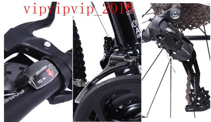 27変速 マウンテンバイク サイクリング レーシングバイク  軽量 二重衝撃吸収 ディスクブレーキ 変速 オフロード 成人SWX-DC185_画像6