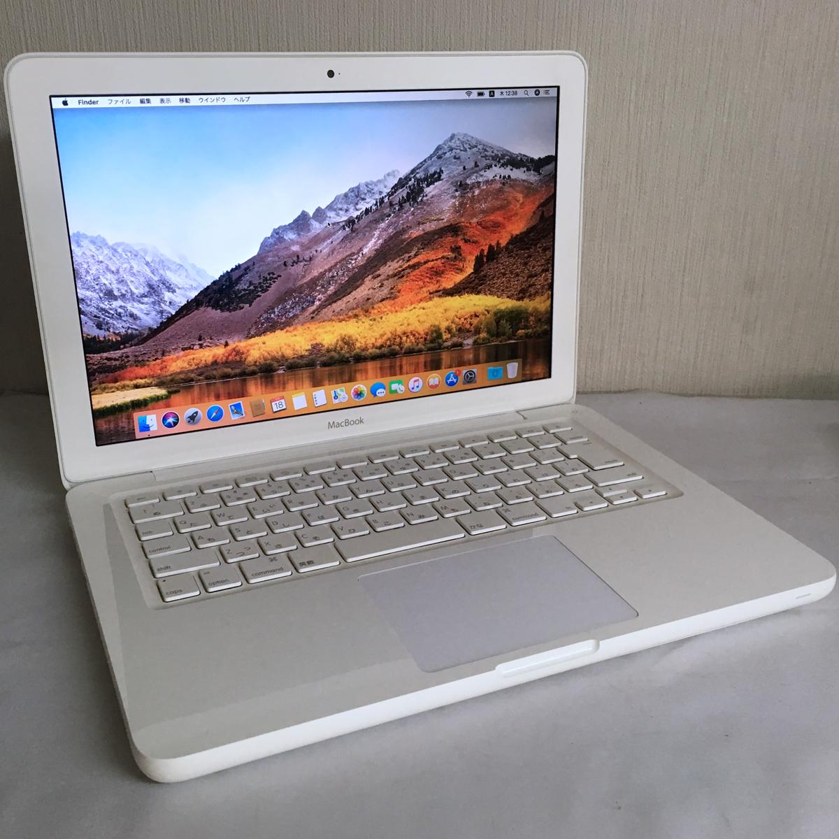 ◆送料無料◆バッテリー新品◆MacBook Mid2010■Core 2 Duo2.4GHz■4GB■250GB■MC516J/A■A1342■