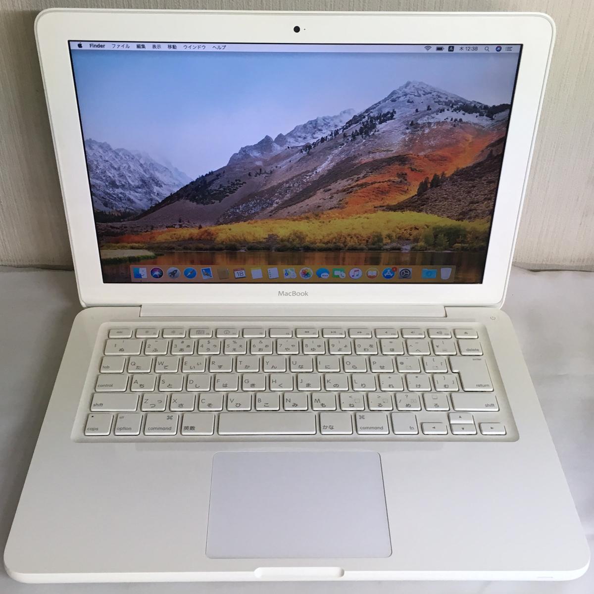 ◆送料無料◆バッテリー新品◆MacBook Mid2010■Core 2 Duo2.4GHz■4GB■250GB■MC516J/A■A1342■_画像2