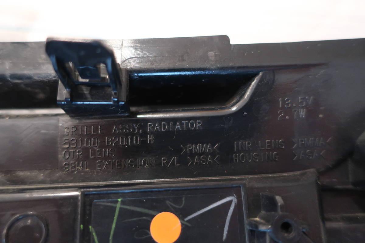 ★美品★ タント カスタム LA600S 純正 LED グリル イルミネーション 青 ブルー 53100-B2010 LED点灯確認済 破損無し_画像8