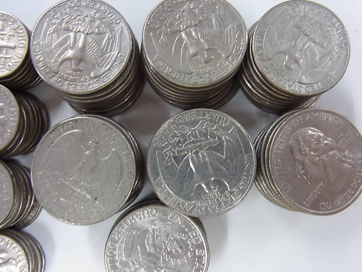 〇137 アメリカ ドル セント まとめて32ドル 205枚 外国コイン 硬貨 _画像4