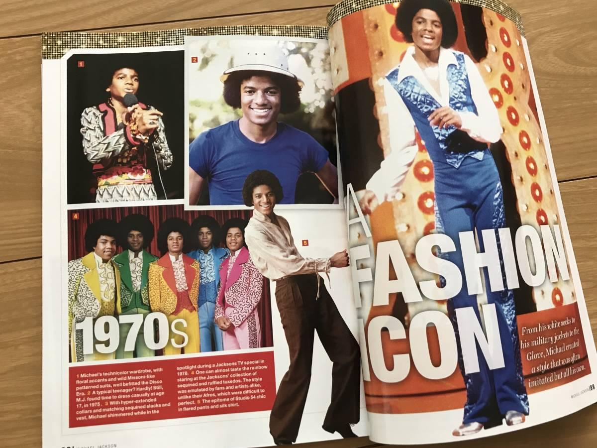 マイケル ジャクソン Michael Jackson 洋書 雑誌 保存版 ジャクソン5 ジャネット ジャクソン_画像3