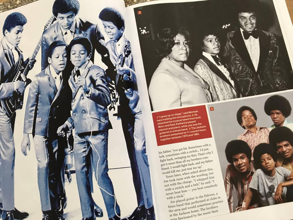 マイケル ジャクソン Michael Jackson 洋書 雑誌 保存版 ジャクソン5 ジャネット ジャクソン_画像4