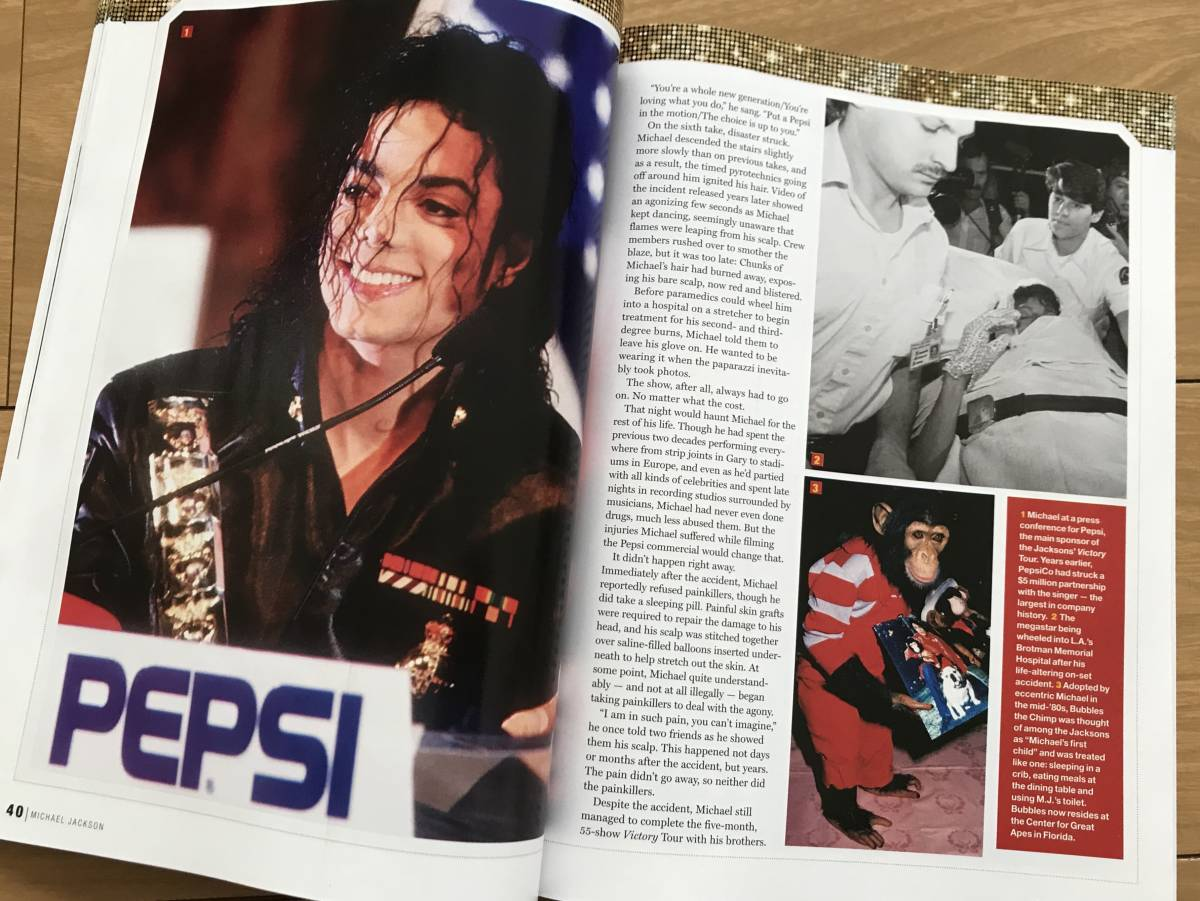 マイケル ジャクソン Michael Jackson 洋書 雑誌 保存版 ジャクソン5 ジャネット ジャクソン_画像8