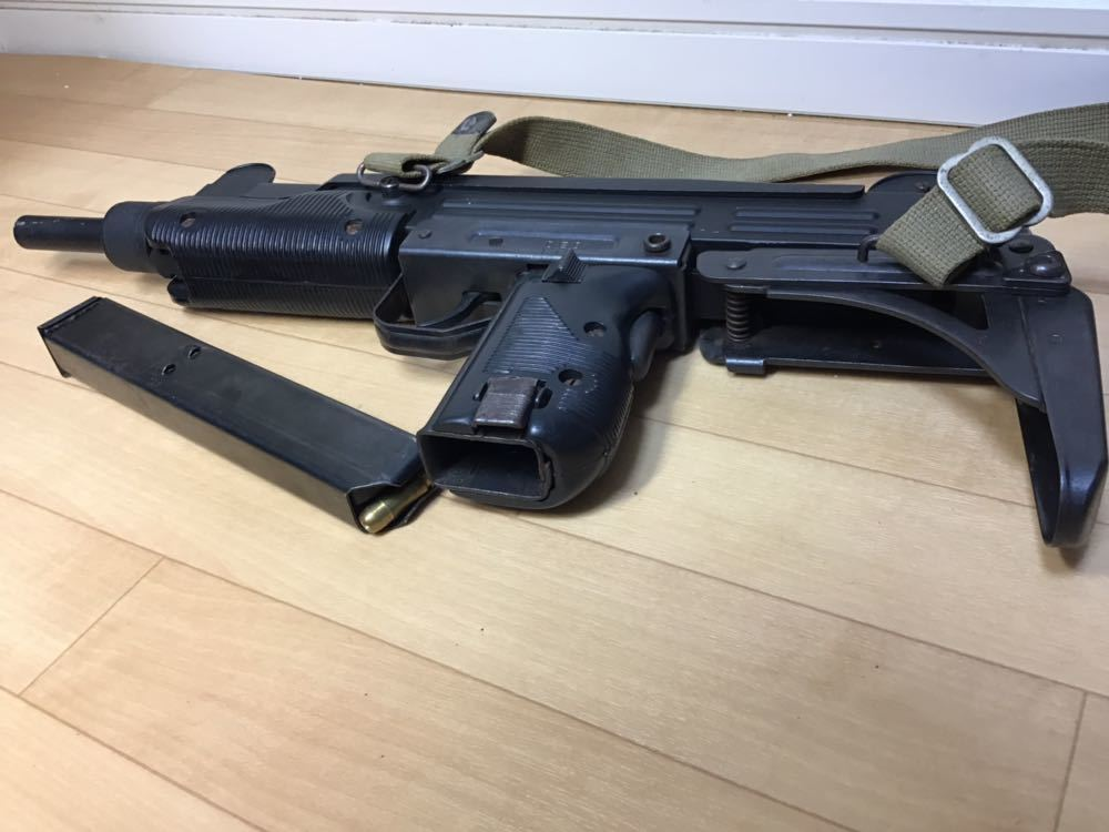 【智】マルシン MP UZI kal 9mm 820119 imi /ウージー 金属 モデルガン SMG刻印 重厚感 元箱無し 現状品 ジャンク 写真参照_画像8