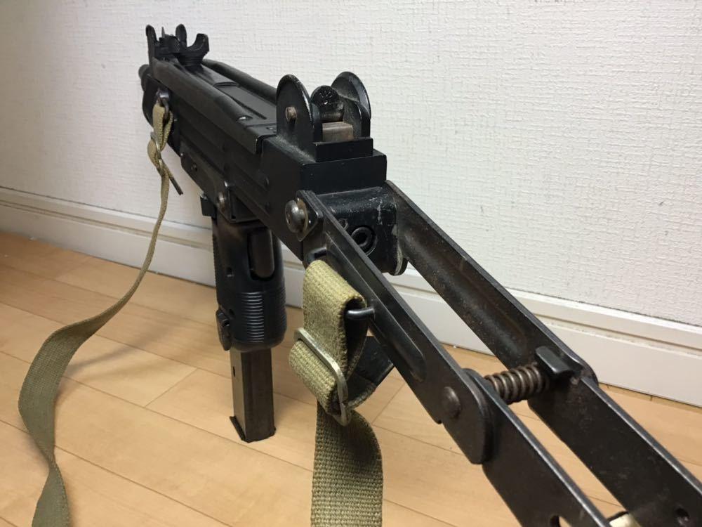 【智】マルシン MP UZI kal 9mm 820119 imi /ウージー 金属 モデルガン SMG刻印 重厚感 元箱無し 現状品 ジャンク 写真参照_画像9