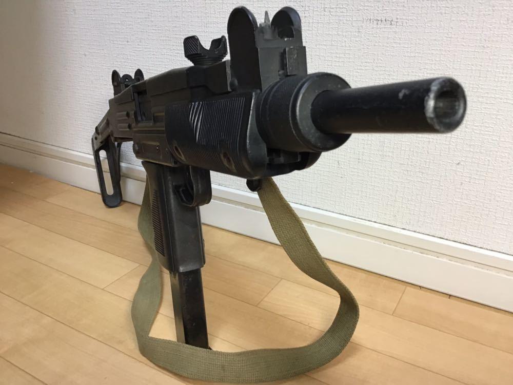 【智】マルシン MP UZI kal 9mm 820119 imi /ウージー 金属 モデルガン SMG刻印 重厚感 元箱無し 現状品 ジャンク 写真参照_画像10