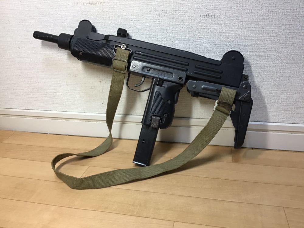 【智】マルシン MP UZI kal 9mm 820119 imi /ウージー 金属 モデルガン SMG刻印 重厚感 元箱無し 現状品 ジャンク 写真参照