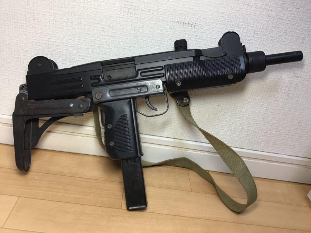 【智】マルシン MP UZI kal 9mm 820119 imi /ウージー 金属 モデルガン SMG刻印 重厚感 元箱無し 現状品 ジャンク 写真参照_画像5