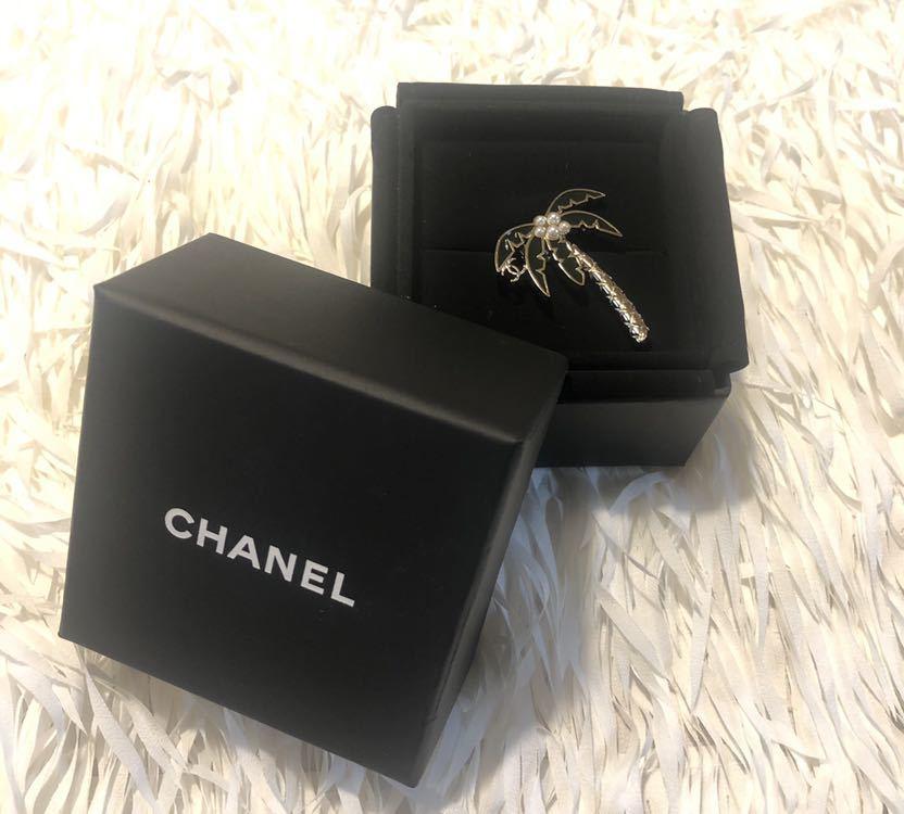 Chanel シャネル ブローチ coco ヤシの木_画像2