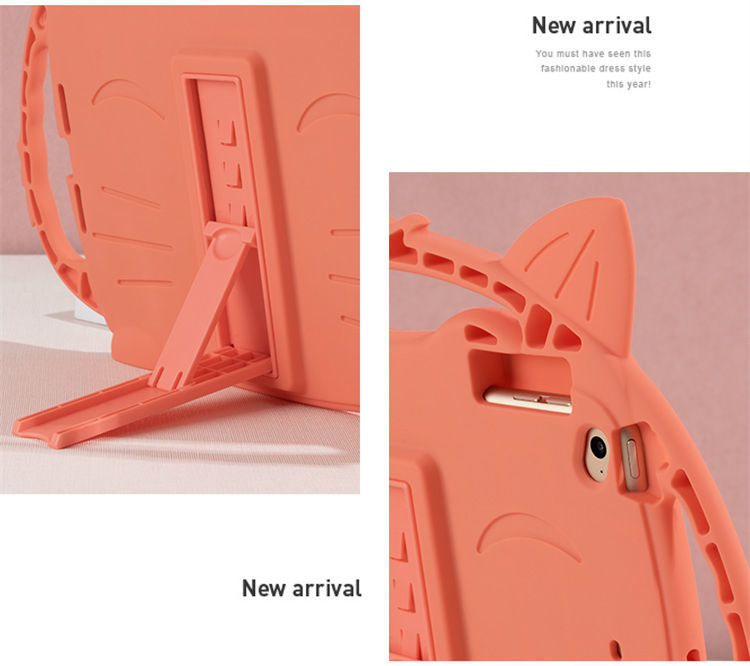 ipad mini5 ケース iPad mini(第5世代) 7.9インチ ケース シリコンケース 耐衝撃 スタンドタイプ 背面カバー キツネ かわいい_画像5