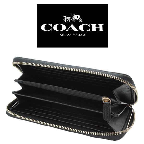 セール中★コーチ長財布★デボスド シグネチャーブラック・F53834★COACHアウトレット新品・未使用品★_画像9