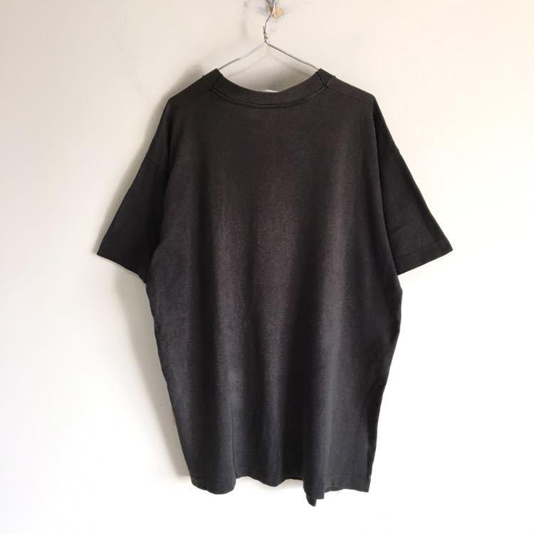 Travis Scott 着用 90s Apple レインボー ロゴ Tシャツ USA製 L ビンテージ Mac アップル 企業物 90年代 80s 古着 RAP シングルステッチ_画像3