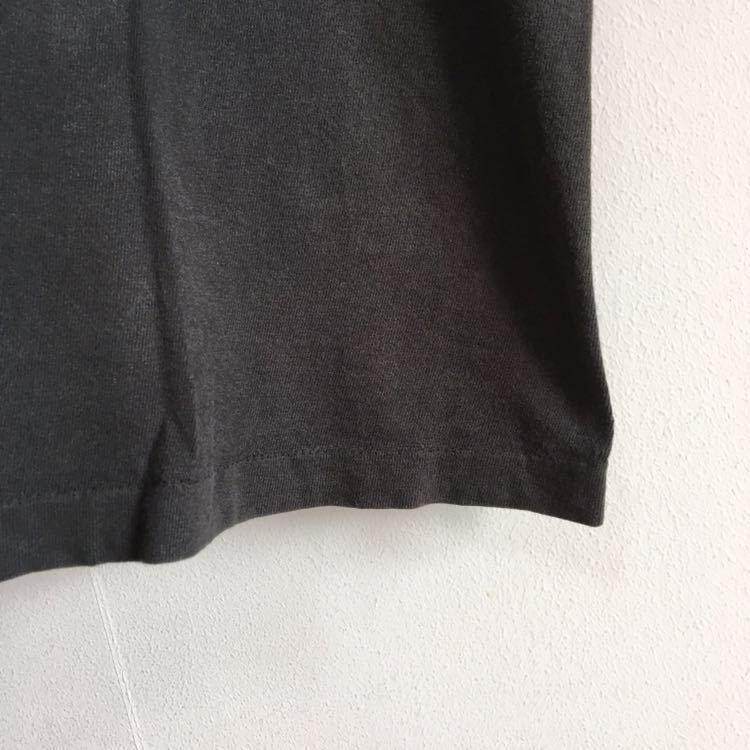 Travis Scott 着用 90s Apple レインボー ロゴ Tシャツ USA製 L ビンテージ Mac アップル 企業物 90年代 80s 古着 RAP シングルステッチ_画像6