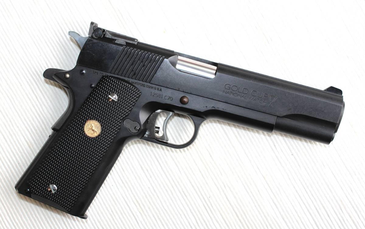 未使用 MGC HW M1911 ガバメント / コンダ― ブラックグリップ_画像2