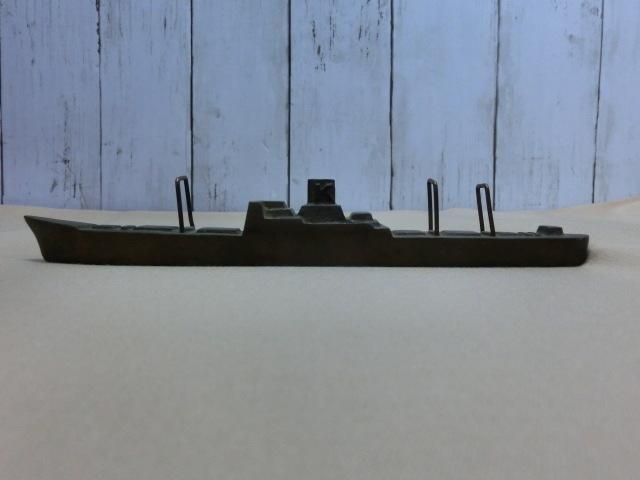 昭和レトロ テーブルコレクション 商船 貨物船深水記念品 一部部品欠品 文鎮 置物  KAMIKAWAMARU 1951_画像4
