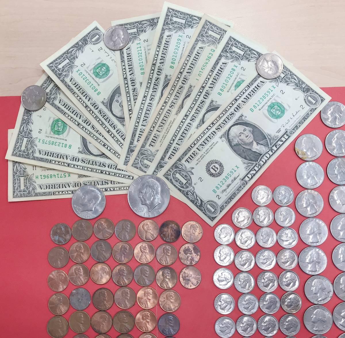 ◆◇【外国銭おまとめ】 アメリカ ドル 紙幣・コイン 26658A  ◇◆_画像2