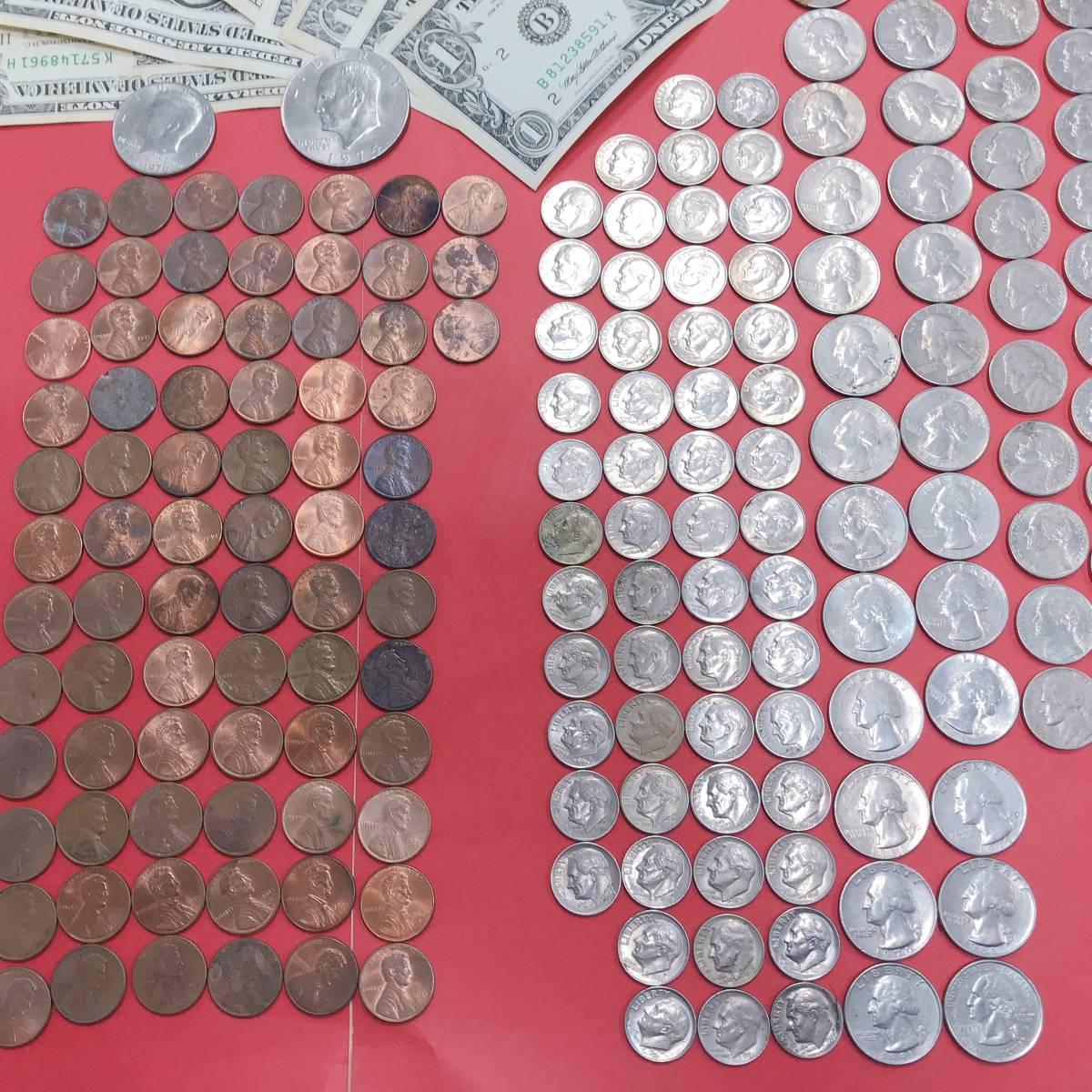 ◆◇【外国銭おまとめ】 アメリカ ドル 紙幣・コイン 26658A  ◇◆_画像3