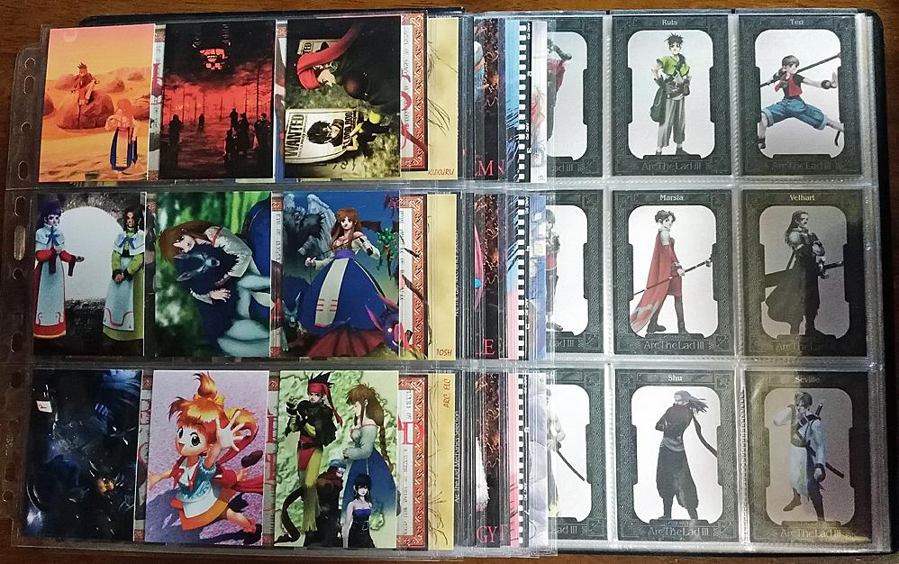 【送料無料】アークザラッド Arc The Lad 2・3 トレカ 170種(ホロあり)【アルバム付】
