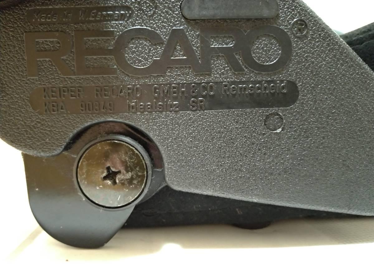 レカロ RECARO SR 2 SR 3 メッシュ セミバケットシート _画像6