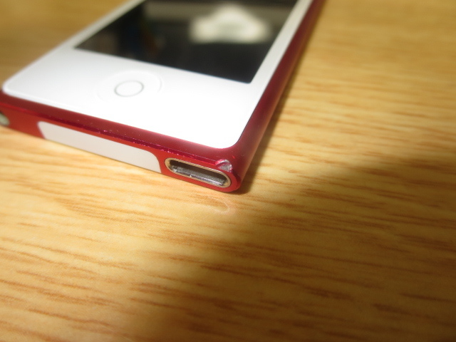 生産終了品!1円~美品最落無 iPod nano 16GB MD744J/A ストア限定レッド 第7世代_画像6