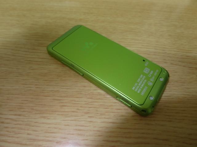 付属品未使用完備!1円~超美品最落無 ソニーウォークマン NW-S785 大容量16GB グリーン_画像6